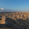 Panorama of the Judean wilderness between Jerusalem and the Jordan river
