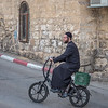 The motorized bicycle is a common mode of transportation in Israel.