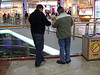 Devon and Michael at the mall.