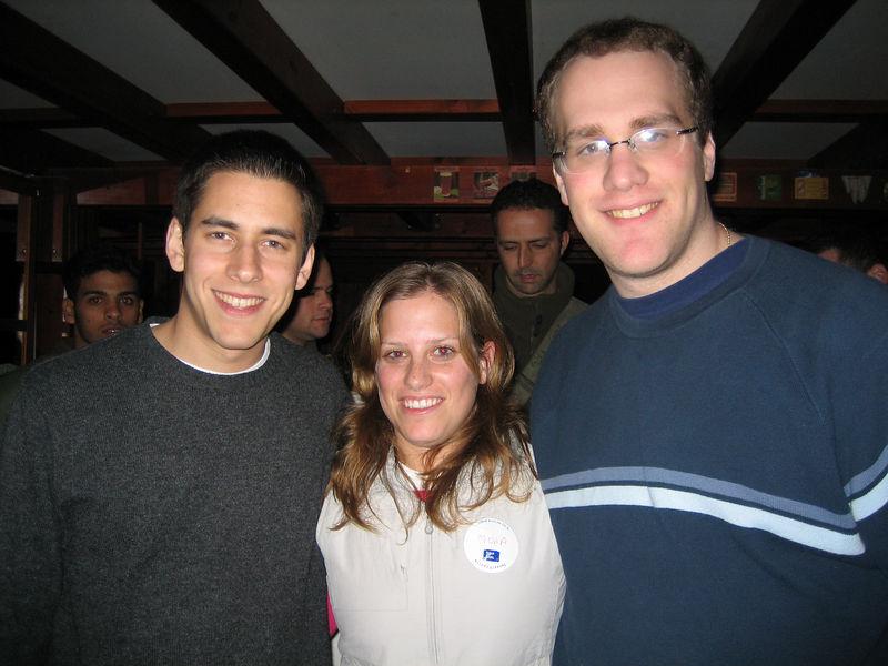 Me, Israeli Soldier Noaa, and Richard