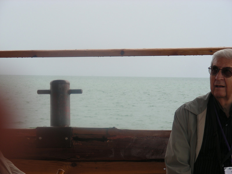 Working replica (+ diesel engine) of Jesus-era fishing boat.
