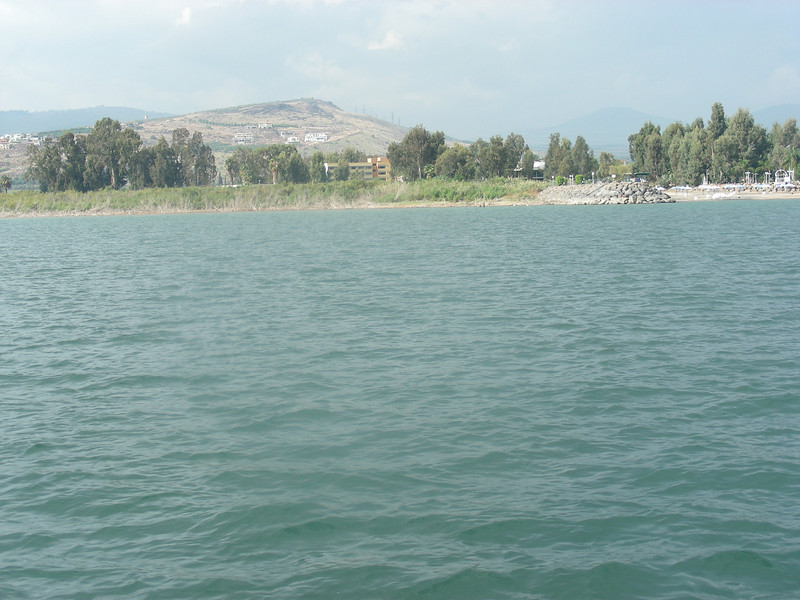 The beautiful, misty, always-changing Sea of Galilee (similar to Bear Lake) with interesting light-patterns as the clouds change.