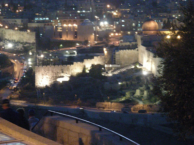 Israel Tour Dec2007 Day 5: Dead Sea, Masada, Jerusalem, BYU Center, Gethsemane