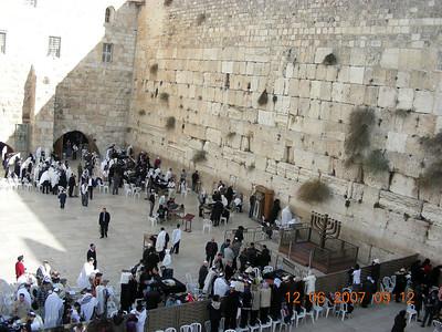 Israel Tour Dec2007 Day 6: Inside Old Jerusalem