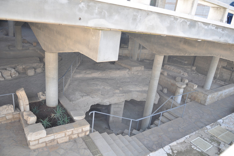 Cave under the Basilica of Annunciation
