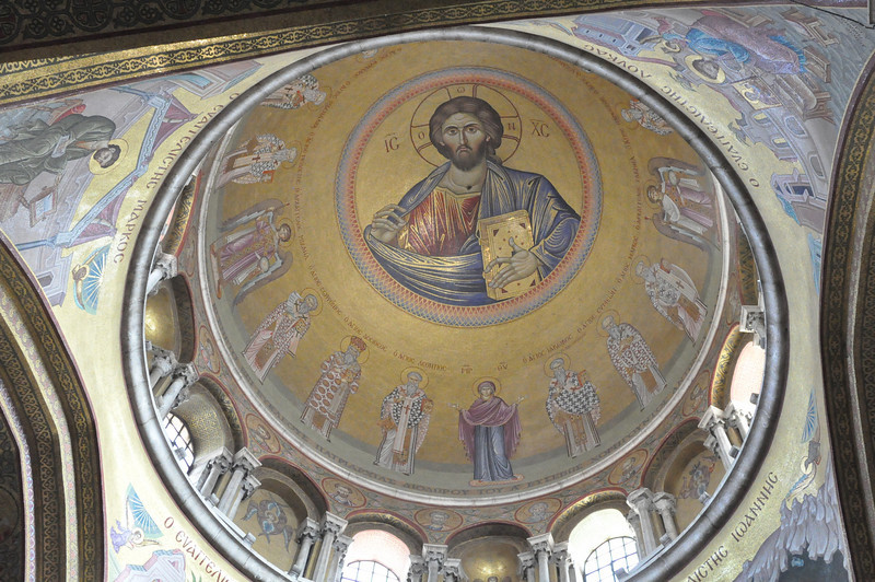 Church of the Holy Sepulcher, Ceiling of the church, Old City Jerusalem
