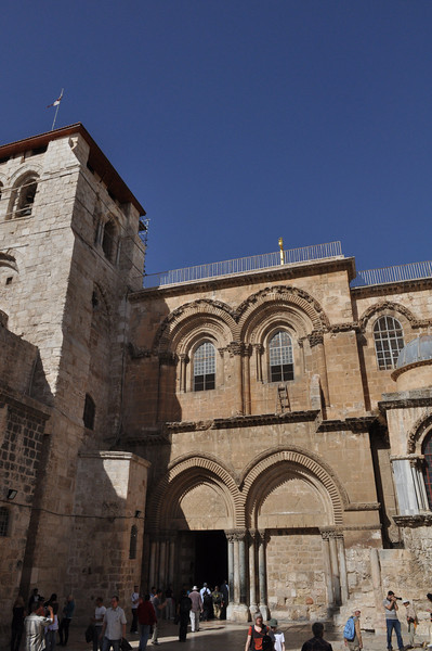 Church of the Holy Sepulcher, Old City Jerusalem