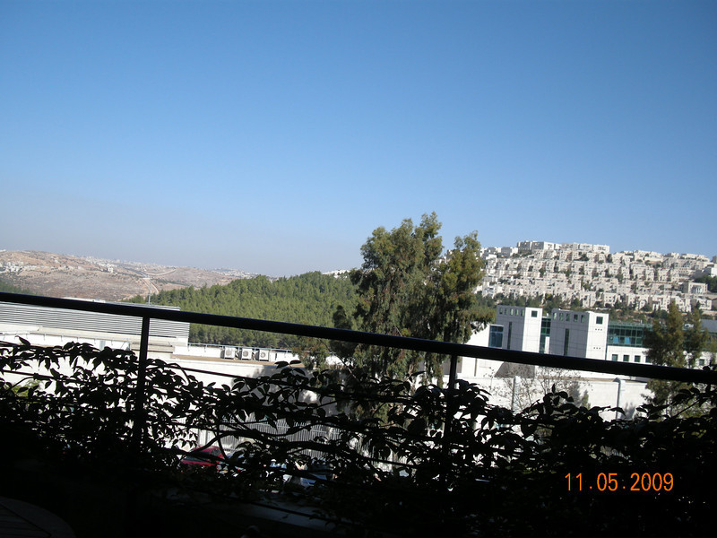 View from Intel Jerusalem