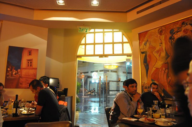 L'Entrecote restaurant, Tel Aviv