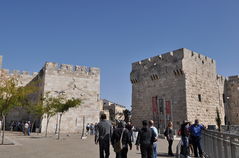 Jaffa Gate Old City, Jerusalem