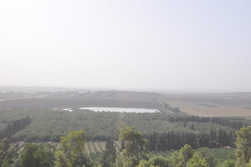 Nazareth is above Galilian Mountains
