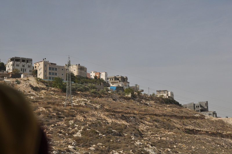 Muslim housing in Old Nazareth.