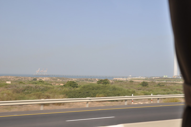 Mediterranean Sea, on the way to Nazareth
