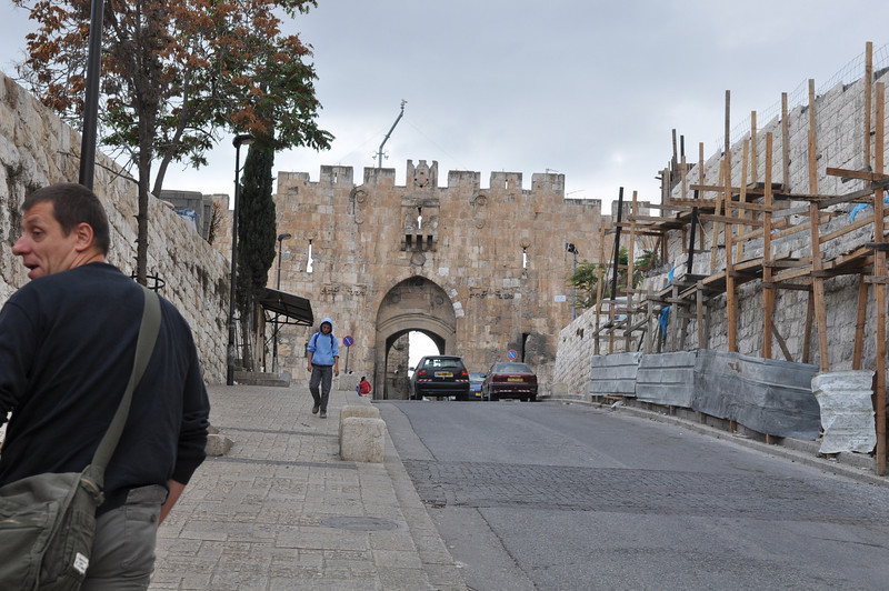Lion's Gate/St Stephen's Gate, Old City Jerusalem