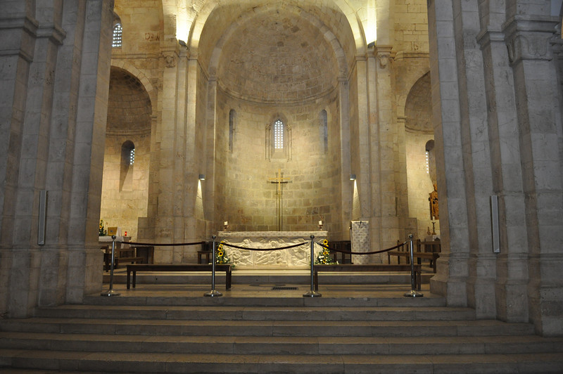 Altar, Church of St Anne, Old City Jerusalem