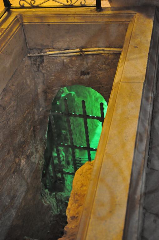 Cave under St Joseph's Church