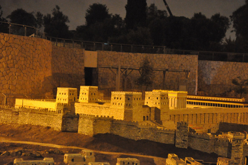 Israel Museum, Model Second Temple, Jerusalem