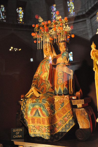 Chinese Mary and baby Jesus, Basilica of the Annunciation