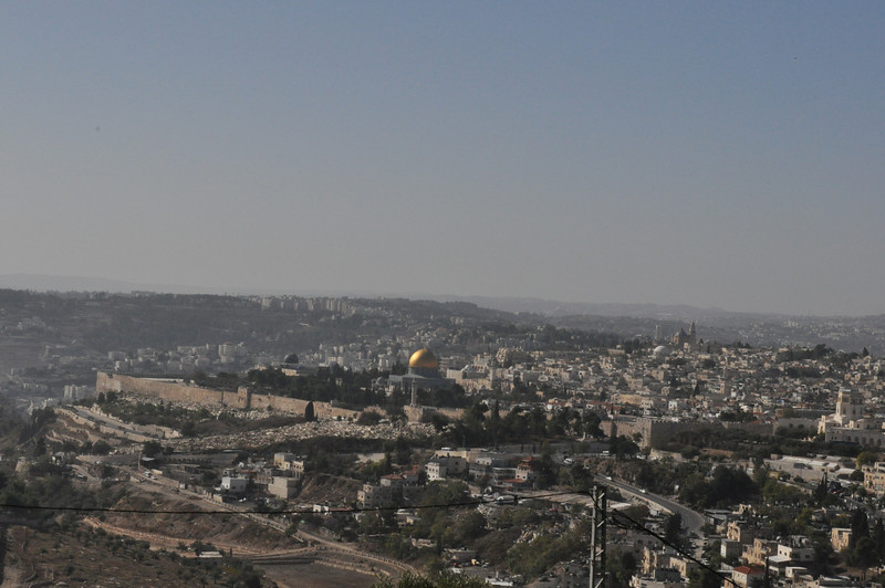 Mt Scopus view, Jerusalem