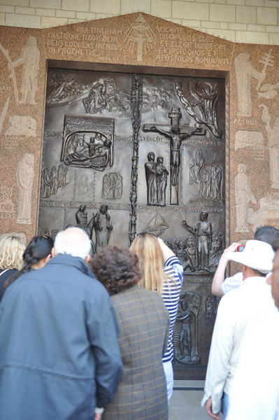 Door scuptures, The Basilica of the Annunciation