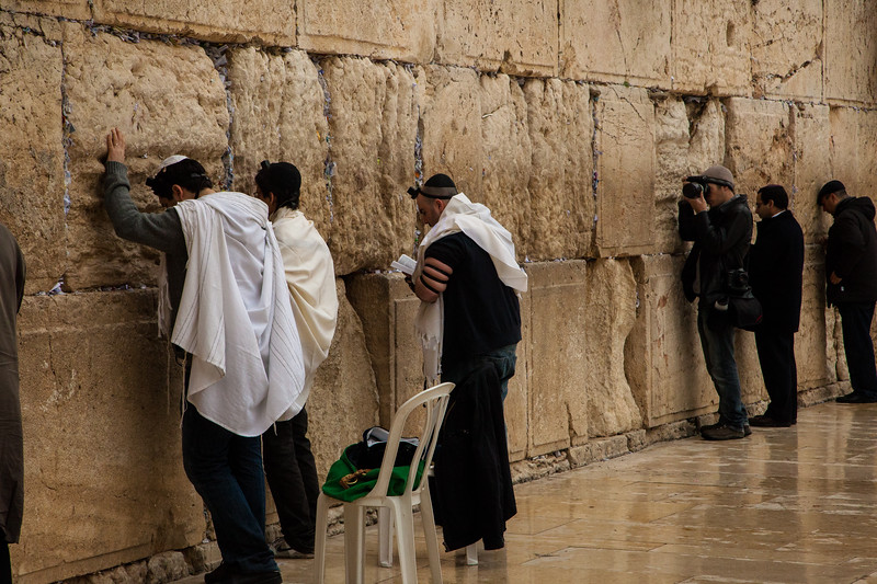 Praying at the wall