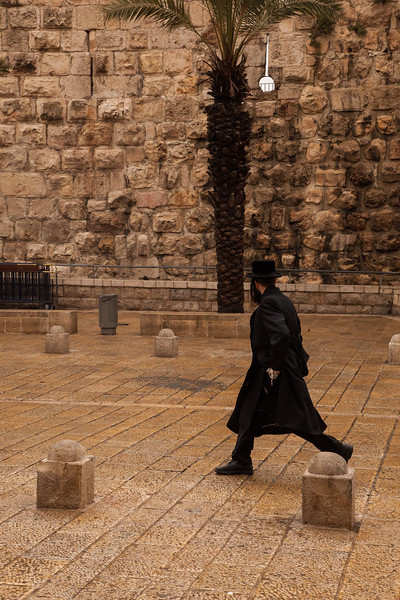 Hasid in a hurry