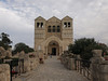 Church of the Transfiguration, Mount Tabor.  Built on the traditional site of the transfiguration.