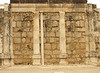 Capernaum; remains of 4th century synagogue