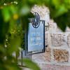 Israel Jerusalem village of Ein Karem - birthplace of John the Baptist - sign for Mary's Spring - Virgin Mary