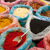Israel Jerusalem Mahane Yehuda market- A variety of spices from all over the Middle East and beyond.