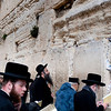 Israel, Old Jerusalem - The Western Wall, Wailing Wall or Kotel -religious Jews pray at this holy site