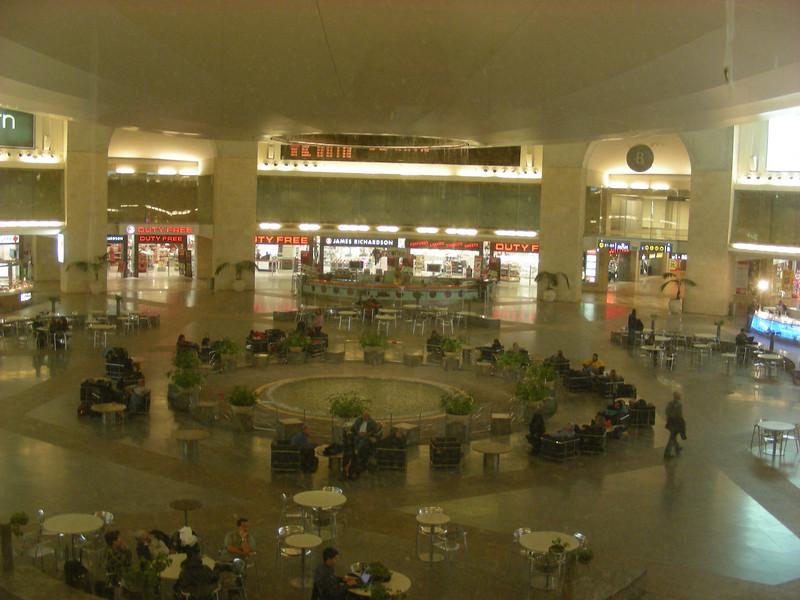 New Tel Aviv airport - just opened last year.