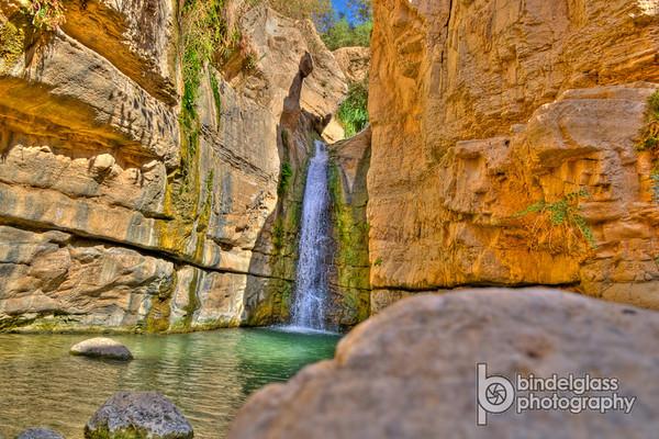 Hidden Falls, Ein Gedi, Israel