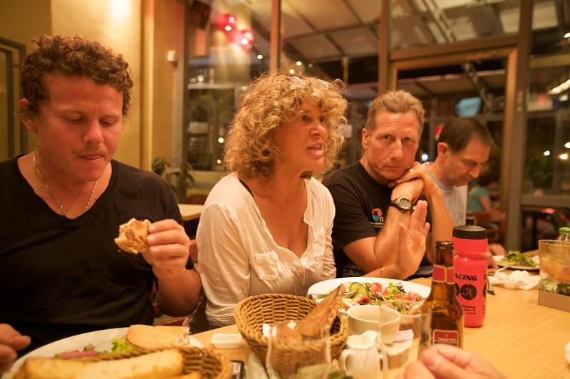 Dinner first night at Kaffe Joe.
