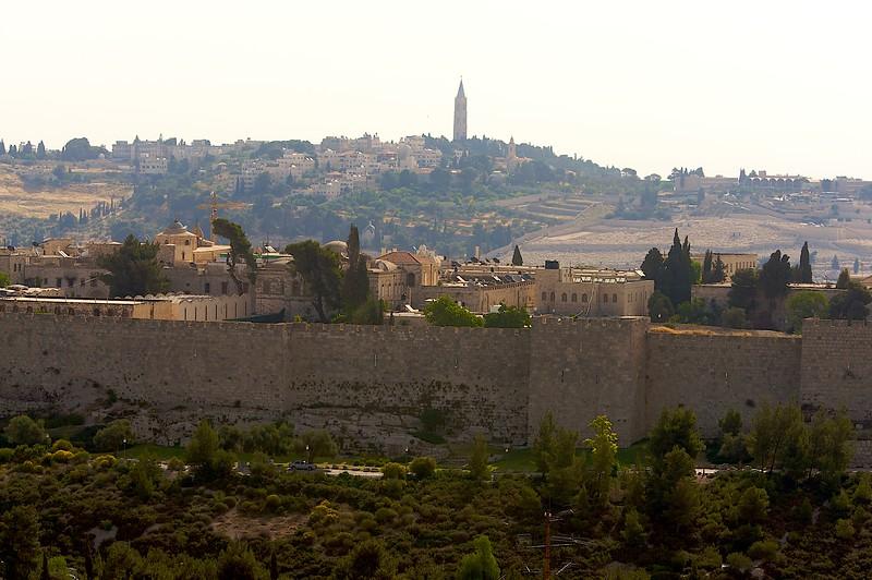 Old City walls.