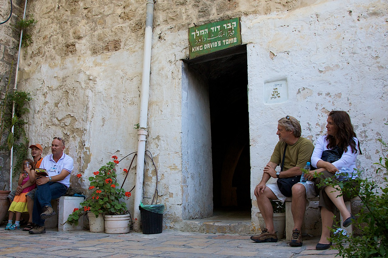 Is that actually King David's tomb??