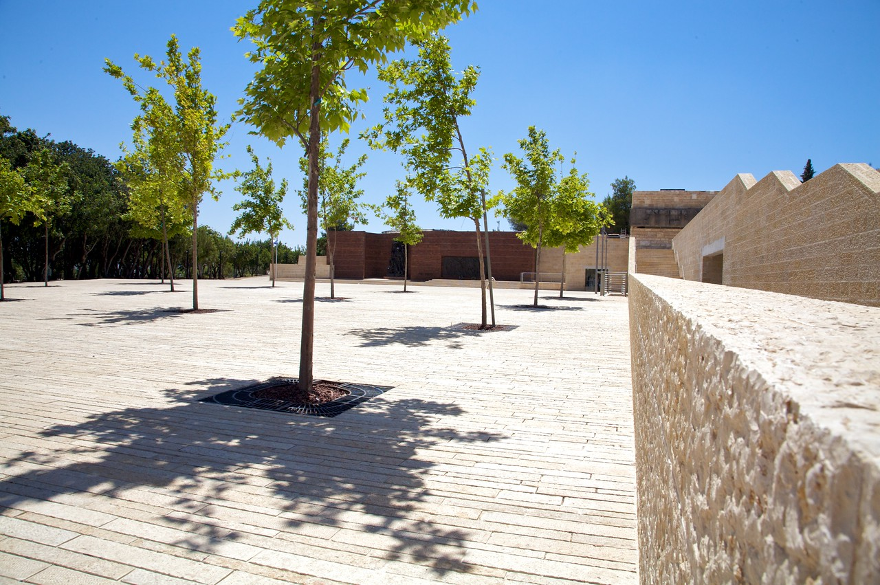 The final courtyard before leaving.
