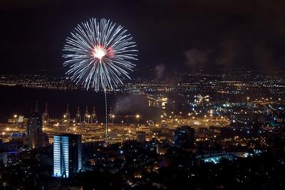 Israel 61 - Haifa fireworks