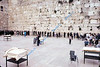 Western Wall.  Men's section.