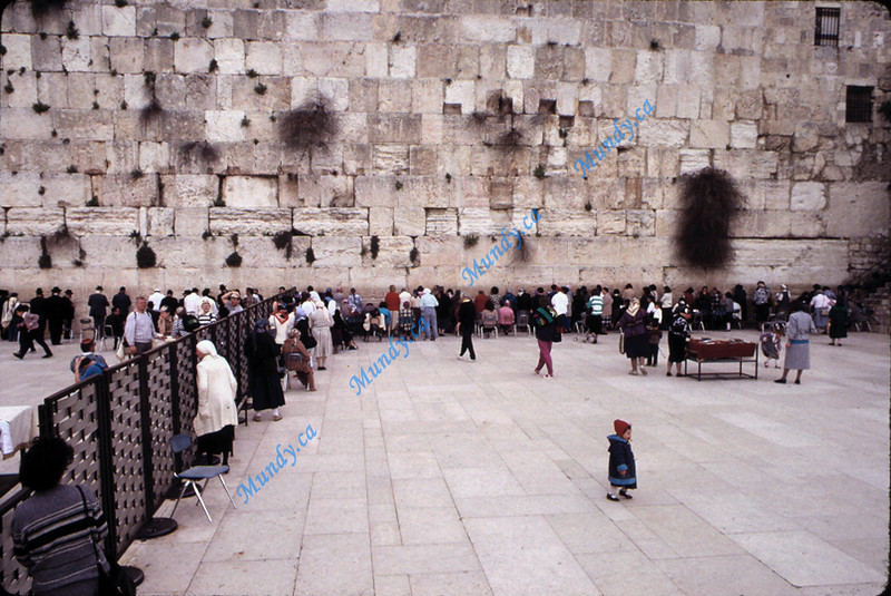 Women's side of the Western Wall