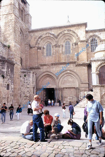 The Church of the Holy Sepulcher ... built on top of Golgotha to preserve the site.