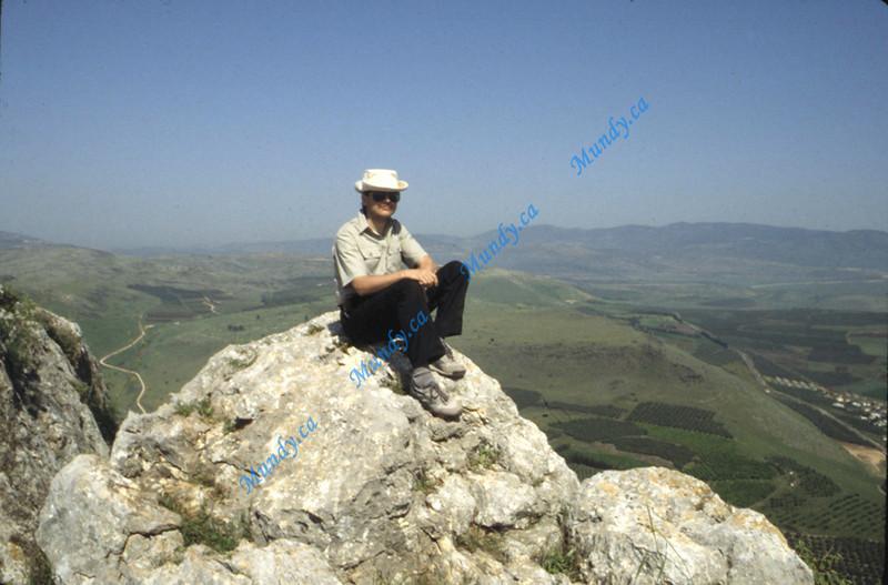 Overlooking Galilee
