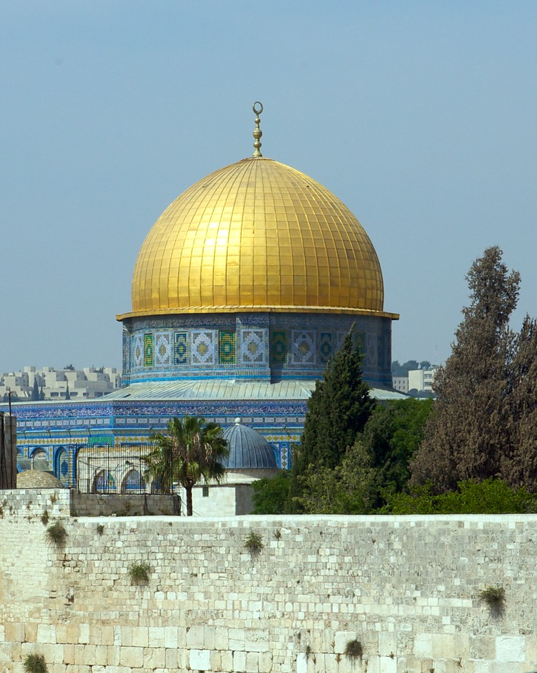 Dome of the Rock...This is the place the 2nd Infatada started over.