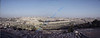 This was my first Easter as a Christian so it was a very special trip for me.<br /> Here is a panoramic view of the old city of Jerusalem ... as seen from the Mount of Olives.