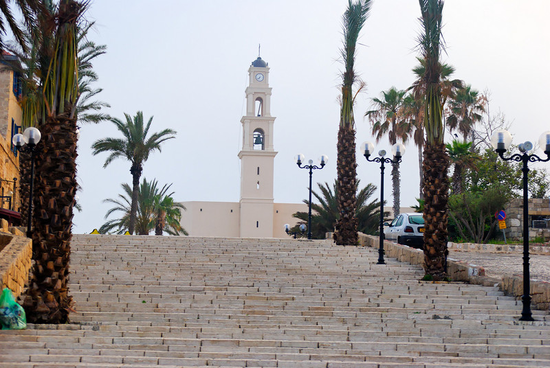 Clock Tower - Old Jaffa - Tel Aviv