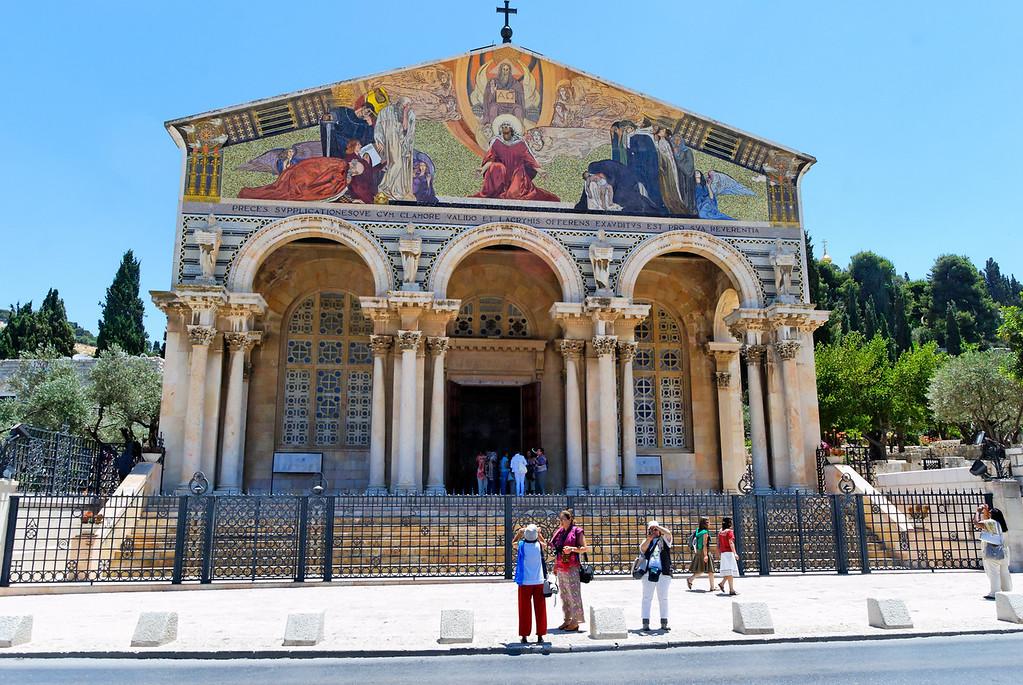 Igerja da Agonia, também chamada Igreja de Todas as Nações
