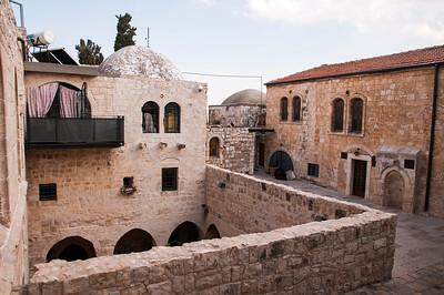 Around the city of David