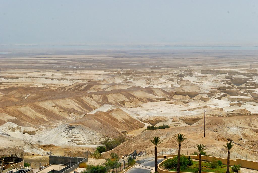 O Mar Morto visto de Massada
