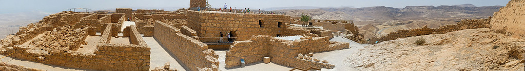 Massada - Israel -  20090610 - 2621_stitch