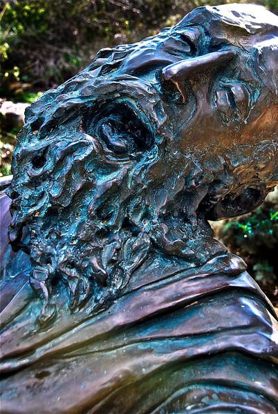 Statue of Moses - Yad Hashmona near Tel Aviv - (c) Daniel Yoffee